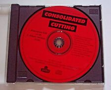1994 CUTTING by CONSOLIDATED ADVANCE PROMO SINGLE CD w/ 2 VERSIONS - RARE! OOP!