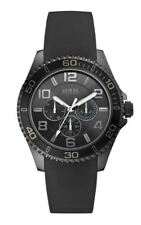 Guess Mens Watch RRP £189 - Clearace Price - Black Day Date - Stunning - W0173G1