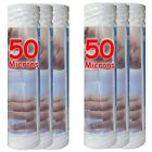 """Cartouche filtre à eau 10"""" 50 µm bobinée sédiments-particules-boue (lot de 6)"""
