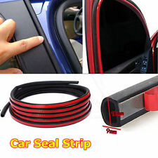 4 Meters Flat D EPDM Rubber Seal Edge Strip Adhesive All Weather Car Door Trunk