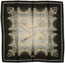 Quality Silky Square Scarf 90x90cm Head Wrap Hijab Kercief  SMOKY BLUE 6A