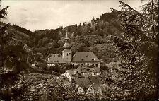 Berneck Fichtelgebirge Bayern s/w Ansichtskarte 1927 gelaufen Schloßturm Kirche