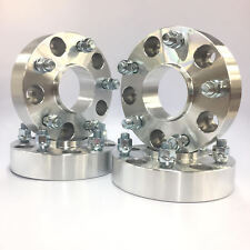 """4pc 1"""" Thick Hub Centric Wheel Spacers Adapters For Ram 1500 2012 & Newer 5x5.5"""""""