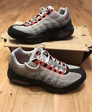 Authentic Nike Air Max 95 Grey Orange UK 10 US 11 Jordan 97 Force Huarache 1
