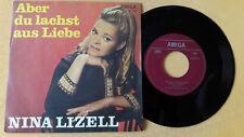 """7"""" Amiga Nina Lizell - Aber du lachst aus Liebe, Rede nicht immer..., 450757"""