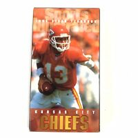 1996 Sports Illustrated Video Yearbook Of Kansas City Chiefs VHS Video Cassette