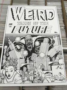 """OA Original art John Sewell Weird tales future Cover Recreation 21.50"""" x 32"""""""