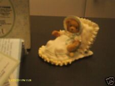 Cherished Teddies _ A baby blesses our hearts baby & pillow 2003 114466
