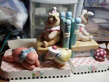 Mary Engelbreit Bookends Bunny Bear Nursery As-Is