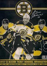 Zdeno Chara Boston Bruins Signed Autographed 2012-2013 Season Ticket Renewal