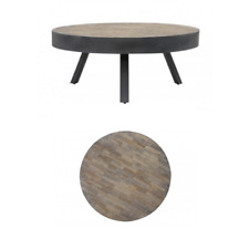 Table basse-SUPERBE Mauco Weathered Wood-Antique Gris 74x31cm