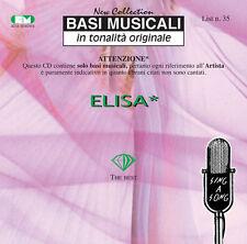 """BASI MUSICALI """"ELISA"""" VOL.35"""
