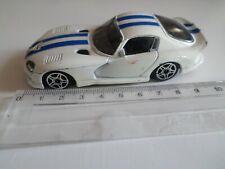 dodge coupe viper GTS blanc - burago