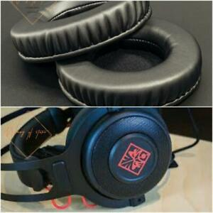 Soft Leather Ear Pads Foam Cushion EarMuff For OMEN By HP Gaming Headset 800