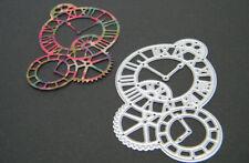 Metal Die Steampunk Cog Clock for Scrapbooking & Cardmaking (UK)