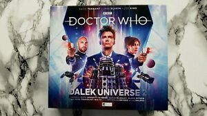 """(10th) Doctor Who: """"Dalek Universe 2 (Two)"""" (3 Audios / 4xCD)"""