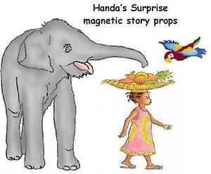 HANDA'S SURPRISE - MAGNETIC STORY PROPS