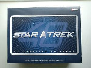Corgi Star Trek Die-Cast Klingon Bird of Prey with Lighted Display Stand