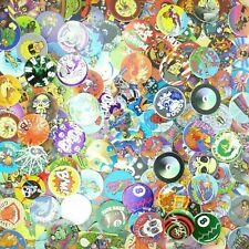 Lot of 100 Pogs / Milk Caps Unsorted! Retro Game Nostalgia! 1990s Fad