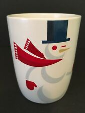 Starbucks Smiling Snowman & Bunny Rabbit Coffee Tea Mug