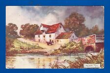 POSTCARD LANGHAM MILL OLD JOTTER ART - WILDT & KRAY CONSTABLE'S COUNTRY