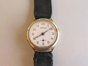 HARWOOD 14K Gold HAMMER Automatic 1920s  first automatic wristwatch  SWISS 28mm
