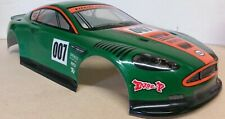 1/10 RC car 190mm on road drift Aston Martin Body Shell W/Spoilers Green