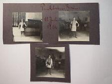 Bonn - 1916 - Paukboden - Studenten in Montur mit Helm - Corps ? 3x / Studentika