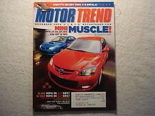 Motor Trend 2006 November Impala Suburban LT3 Expedition Malibu SS Camry SE