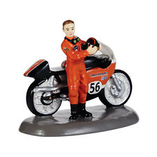 Department 56 Snow Village Harley Davidson  Race Ready Accessory NEW 4036573