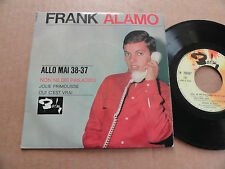 """DISQUE 45T DE FRANK ALAMO  """" ALLO MAI 38-37 """""""
