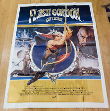 Affiche de cinéma : FLASH GORDON - GUY L'ECLAIR de MIKE HODGES