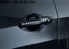 Camaro door handle decal sticker chevy  / TWO DECALS (pair)