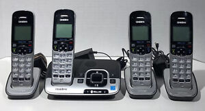 Uniden Dect 6.0 D1680-4 1.9 GHz 4 Handsets, w/ Answer Machine, Speaker Phones