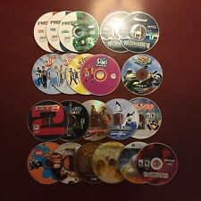 PC Game Disc Only Lot - Mech Warrior, Zoo Tycoon 2, Sims, GTA 2, Titan Quest