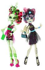 Monster High Rochelle Goyle & Vénus McFlytrap Zombie Shake Rare bjr17