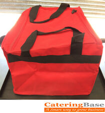 """Hot Food Takeaway Delivery bags 18""""x18""""x10"""" ideal for Chinese & Indian Take Away"""