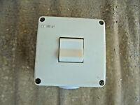 Alter Schalter Lichtschalter Kippschalter 3 polig DDR VEB Feuchtraum Außen