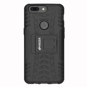 Shockproof Heavy Duty Dual Layer Hybrid Rubber Hard Warrior Case for OnePlus 5T