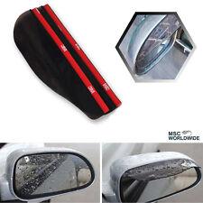 Car Wing Side Mirror Rain Board Guard Eyebrow Sun Shade Shield 2PCS