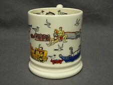 Collectable Emma Bridgewater Spongeware 1/2 Pint Mug - Seaside