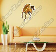 "Stallion Mustang Horse Bronco Animal Wall Sticker Room Interior Decor 20""X25"""