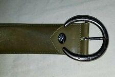 Longchamp Womens Basic Buckled Belt Leather Size 30 32