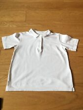 M&S Girls School Cotton Polo Shirt Age 8-9yrs