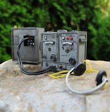 WWII Wehrmacht Funkgerät Batterie Kasten Diorama Deko Bausatz Zubehör Kit 1/16