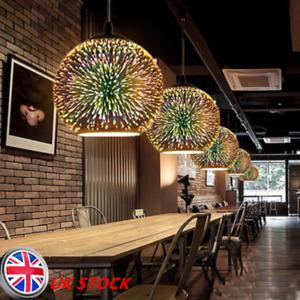 FireworkBall Pendant Light Creative Ceiling Shade Lamp LED Light Home Bar Decor