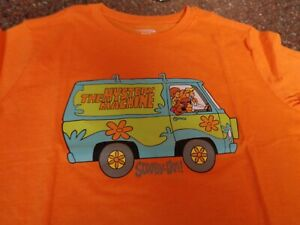 Old Navy Scooby-Doo Gang Mystery Machine SS T-Shirt Youth Boys XL 14-16 NWT NEW