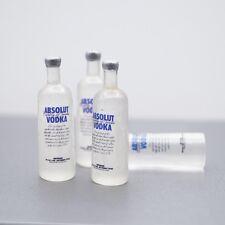 "2 x Mini Prop Vodka Bottle For 1/6 Scale Male 12"" Action Figure 1:6 Model HT Toy"