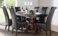 Wooden Rectangle Kitchen & Dining Tables with Extending