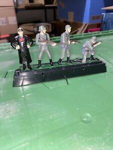 Blue Box Elite Command WW2 Toy Die-Cast Metal Soldiers Eisenhower Rommel 1:32
